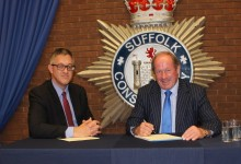Suffolk's PCC signs declaration of acceptance