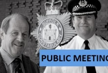 Meet the PCC and Chief to discuss local policing