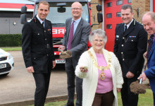 Work starts on new joint police and fire station in Felixstowe