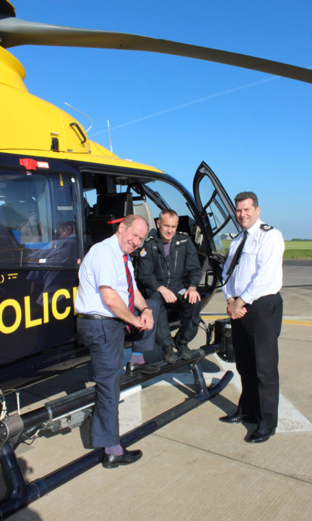 PCC pleased with better settlement for helicopter service